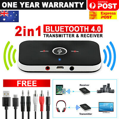 HIFI Wireless Bluetooth 2 in1 Audio Receiver Transmitter 3.5MM RCA Music Adapter