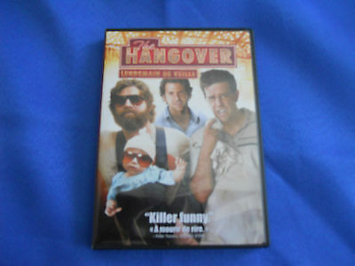The Hangover (DVD, 2009, Canadian; French)