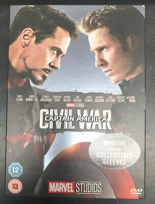 Captain America: Civil War [DVD] New Sealed