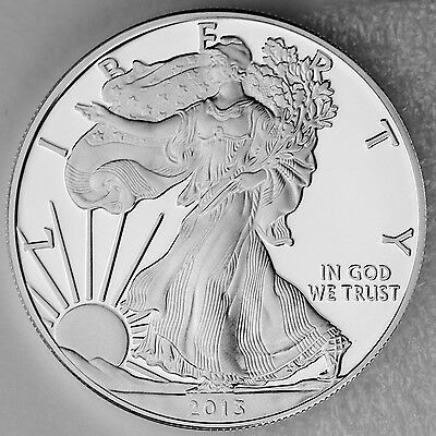 2013 W $1 Silver American Eagle 1 oz. 99.9% Pure Proof, Mint Packaging & COA