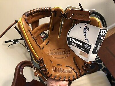 """New With Tags Wilson A2000 DP15 Dustin Pedroia SuperSkin 11.75"""" Baseball Glove"""