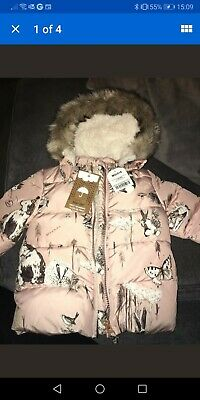NEXT 6-9 Months Girls Coat BNWT