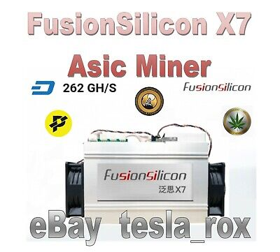 FusionSilicon X7 🔥Asic Miner 🔥 Dash Miner, X11 Many Coins - FAST SHIPPING