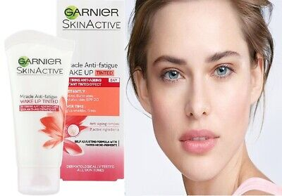 Garnier SkinActive Miracle Anti Fatigue Wake Up Tinted Moisturizer 50 ml NIB
