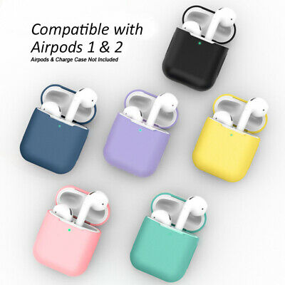 Silicone Protective Sleeve Case Cover Skin for Apple Airpod 1 / 2 EarPhone