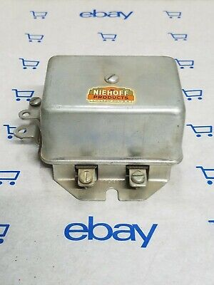 Vintage Dual Light Relay Made By Neihoff For Filko Part # Lr-6 New Old Stock