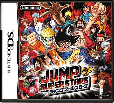 Nintendo DS NDS Game Jump Super Stars From Japan New