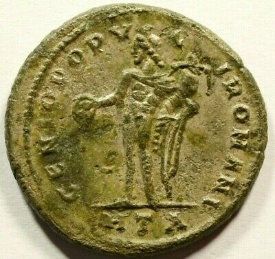 27.5mm DIOCLETIAN Authentic Ancient 284-305AD Genuine Roman Coin FOLLIS