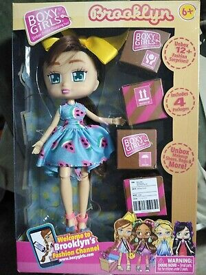 Boxy Girls Brooklyn~4 Surprise Boxes Jay@Play Original 2018 Brand New In Box