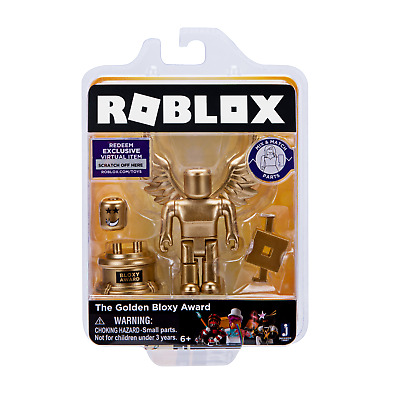 Roblox Gold Collection The Golden Bloxy Award Single Figure Pack Celebrity New