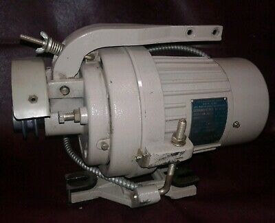 Vintage CONSEW Industrial Sewing Machine Clutch Motor. 3450 RPM. 1/2hp. Our #4