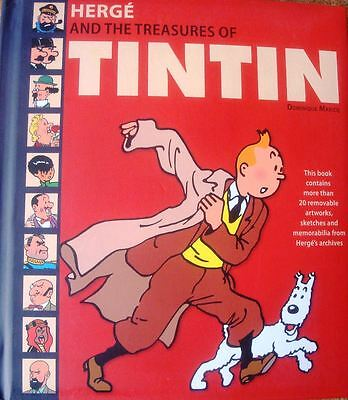 Herge Treasures Of Tintin Superb Collectors Hardback Book By Dominique Maricq