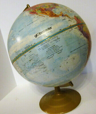 Globemaster 12 inch Globe Of The World On A Stand