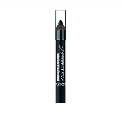Astor 24hr Perfect Stay Waterproof 730 Glitter Black Eyeshadow Pencil Liner