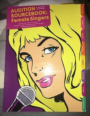 Audition Songbook: Female Singers by Music Sales Ltd - Inc. 2 Backing Track Cds