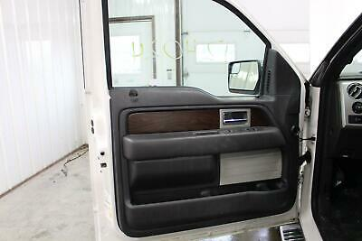 2012 13 14 15 ford f150 limited drivers left side black door panel lh trim  card