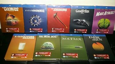 Lot Collector 10 films Cultes steelbooks blu-ray neufs sous blister