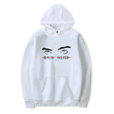 Billie Eilish Eyes 3D Printed Hoodie Pullover Sweatshirts Fans Cosplay Coat Tops