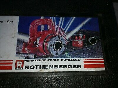 Rothenberger pipe Threader
