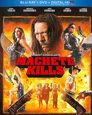 Machete Kills (Blu-ray/DVD, 2014, 2-Disc Set, Canadian)