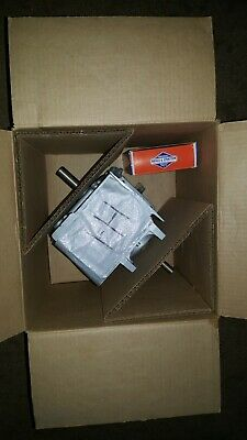 Vintage Briggs and Stratton  Horizontal Shaft Short Block Engine NIB Mini Bike