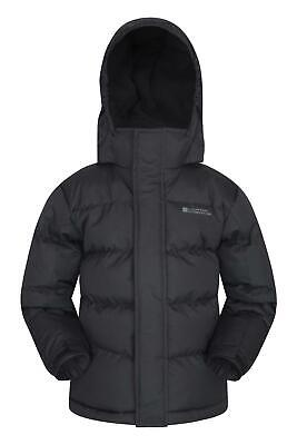 Mountain Warehouse Boys Padded Jacket 100% Polyester with Rip-Stop Fabric