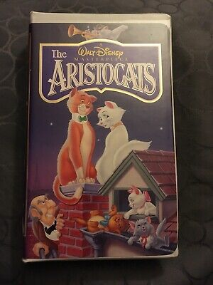 Walt Disney's Masterpiece Collection The Aristocats (VHS)