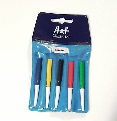 Kit 5 Spades-Oil a *F Swiss for Oiling Watchmaking - Set of 5 Oilers Swiss
