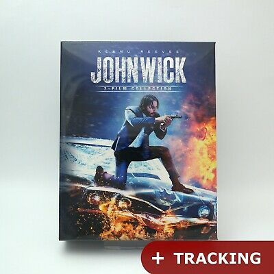 (Presale) John Wick 1 & Chapter 2 - Blu-ray Double Pack (2019) / NOVA