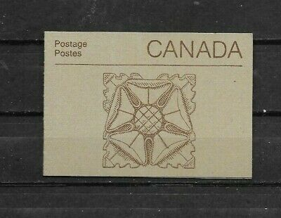 pk44317:Stamps-Canada #BK88b Parliament Booklet - Carved Staone Ornament Cover