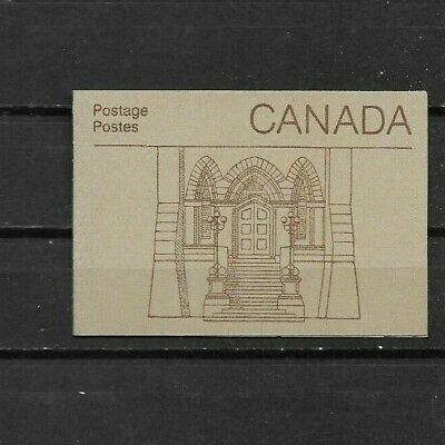 pk44316:Stamps-Canada #BK88b Parliament Booklet - Library of Parliament Cover
