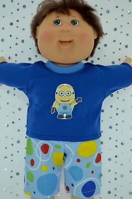 """Play n Wear Doll Clothes To Fit 16"""" Cabbage Patch SPOT PANTS~T-SHIRT"""