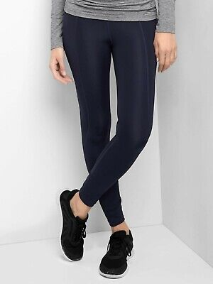 Gap Maternity GapFit Full-Panel Leggings In Sculpt Compression Size S-Navy