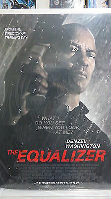 EQUALIZER, THE Original Movie Poster DS 27x40 Denzel Washington