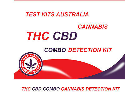 Australian Scientific Combo Potency THC & CBD Test Kit (3 each  x  Tests)