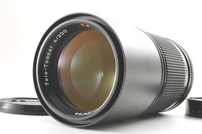 【MINT+】CONTAX Carl Zeiss Tele-Tessar T* 200mm F/4 1:4 AEG From JAPAN
