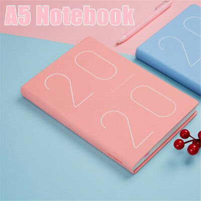 AU 2019-2020 Weekly Monthly Journal Planner Diary Scheduler Study A5 Notebook