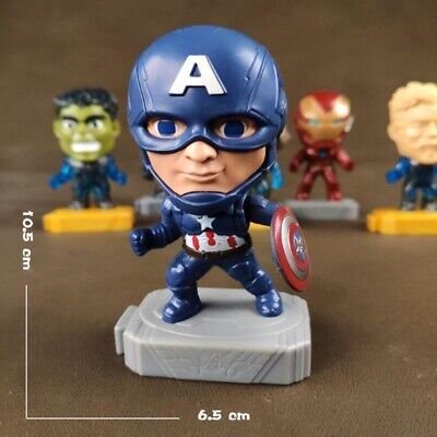 2019 McDonald's Marvel Avenger's Endgame Marvel Captain America Happy Meal Toy