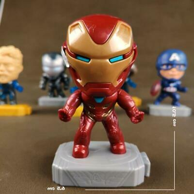 2019 McDonald's Marvel Avenger's Endgame Marvel Iron Man Happy Meal Toy