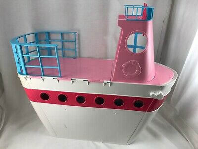 Vintage Barbie Doll Playset Cruise Ship Boat Case Girl Gift Toy