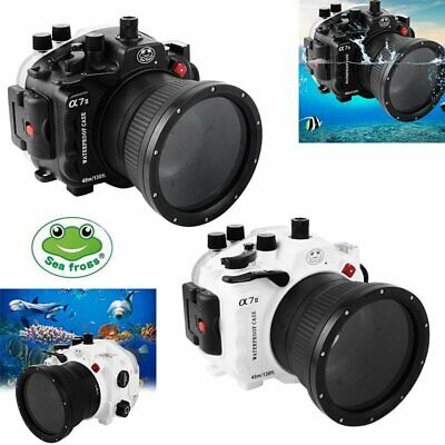 SeaFrogs 40m Underwater Diving Housing Case For Sony A7II 28-70mm Lens Camera