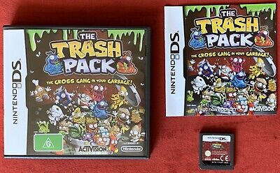 The Trash Pack Game for Nintendo DS / 3DS Complete in box with manual