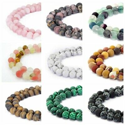 Assorted Loose Beads Natural Stone Beads Round Beads For DIY Jewelry Making