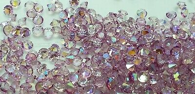 """/""""pinch Lot/""""Floating Charm AB 2mm mix 10pcs Craft Crystals USA Seller*"""