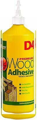 Everbuild D4 Wood Adhesive - Solvent free wood adhesive - 1L - White