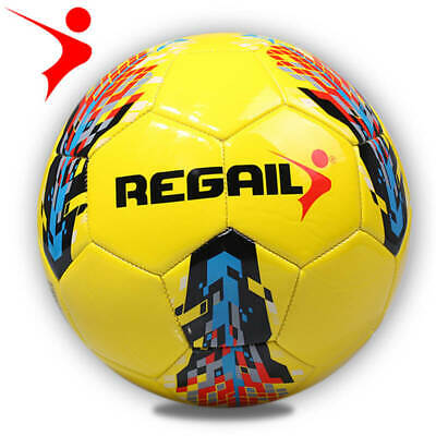 REGAIL Official Size 5 Training Ball Football Soccer Ball PU Ball