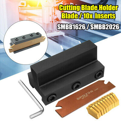 SMBB1626/SMBB2026 Cutting Blade Holder+Cut-Off Cutter Blade Inserts For