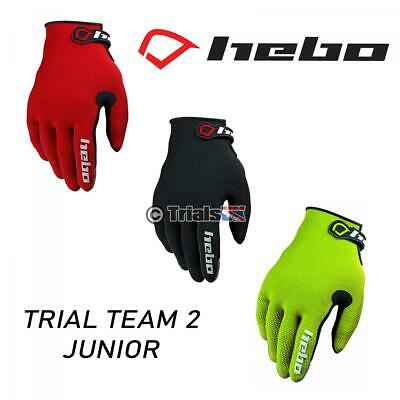 Hebo Junior Team II Trials Riding Gloves - Youth/Kids/Child