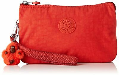 Kipling Creativity Xl, Porte-monnaie femme, Rouge (Active Red)