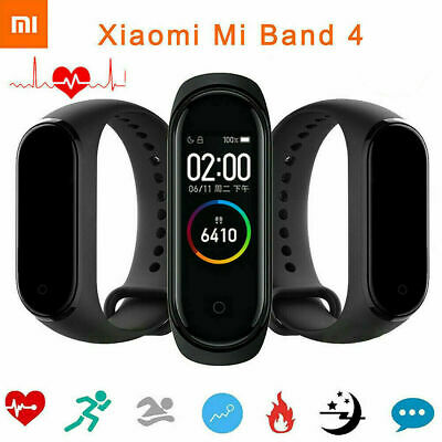 "Xiaomi Mi Band 4 Music Smart Bracelet Heart Rate Fitness Monitor 0.95"" AMOLED"